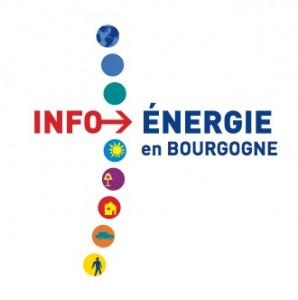 INFO ENERGIE Logo BOURGOGNE  couleur