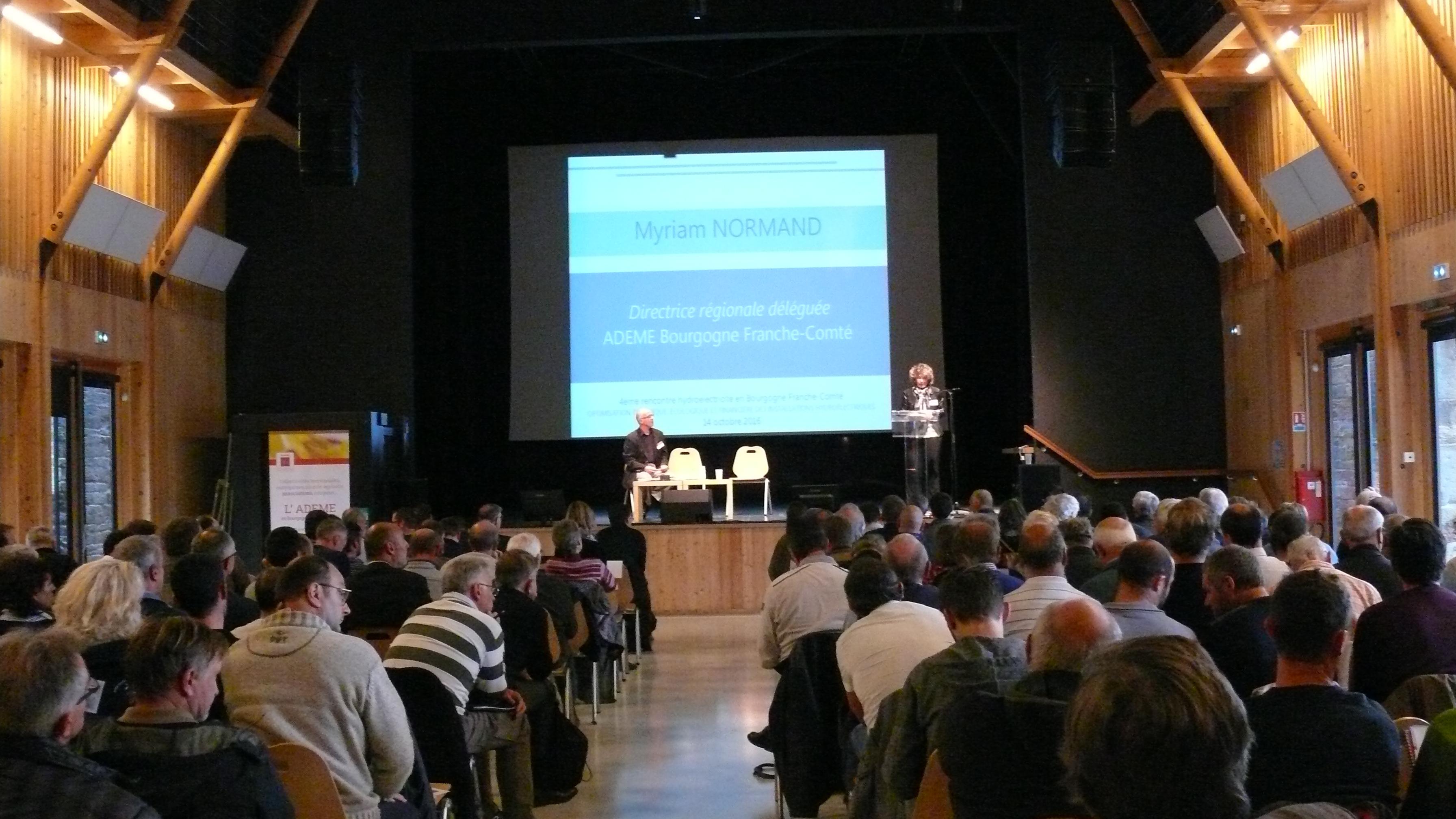 Matinée de présentation  4ème rencontre de l'hydroélectricité en Bourgogne - Franche-Comté
