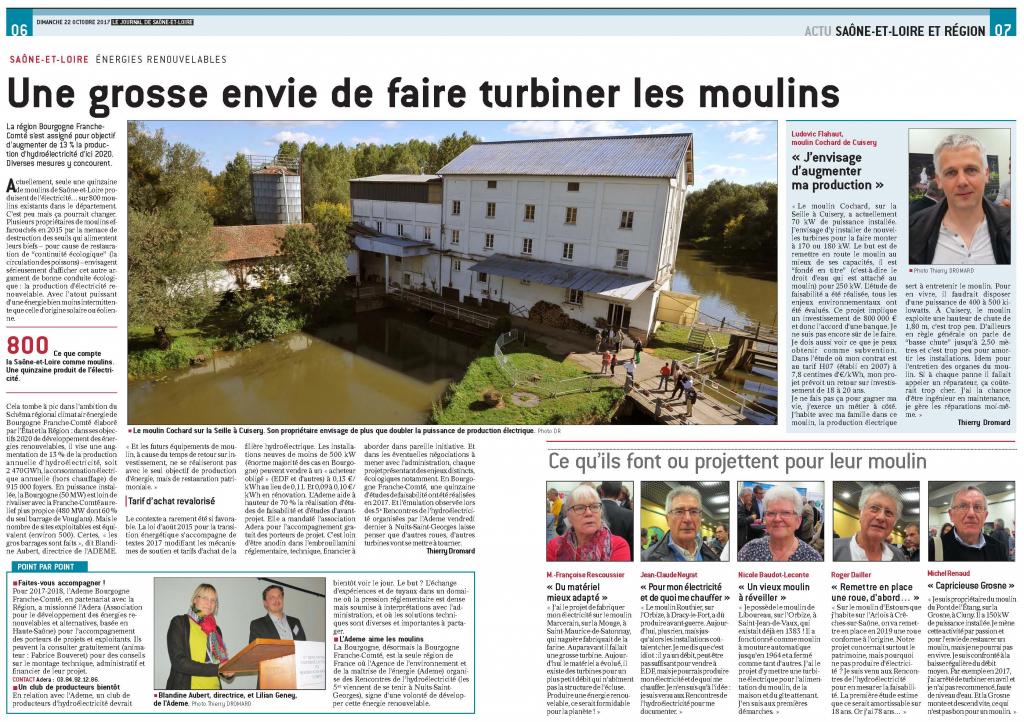Article_presse_journal_Saône_et_Loire